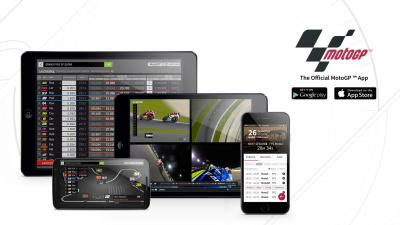 Keep on track with MotoGP™ with the Official App