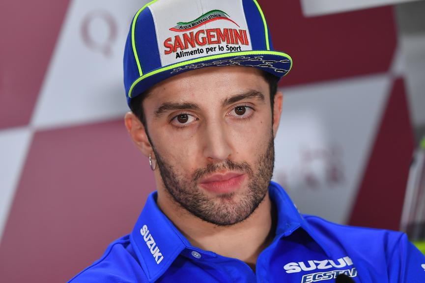 Andrea Iannone, Team Suzuki Ecstar, Grand Prix of Qatar