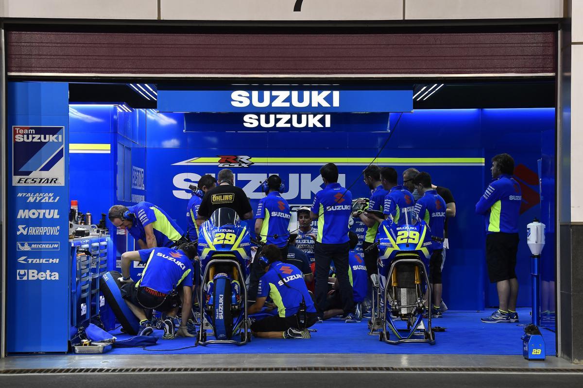 Ken Kawauchi: Suzuki Ecstar blog   MotoGP™