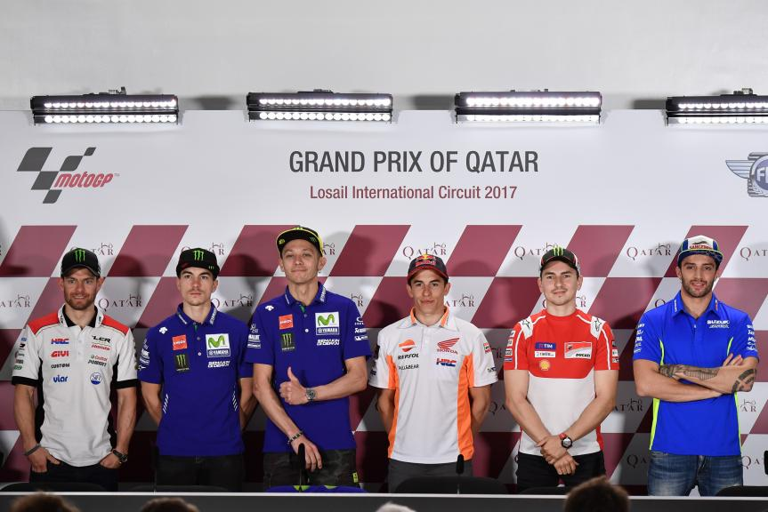 Press conference Grand Prix of Qatar