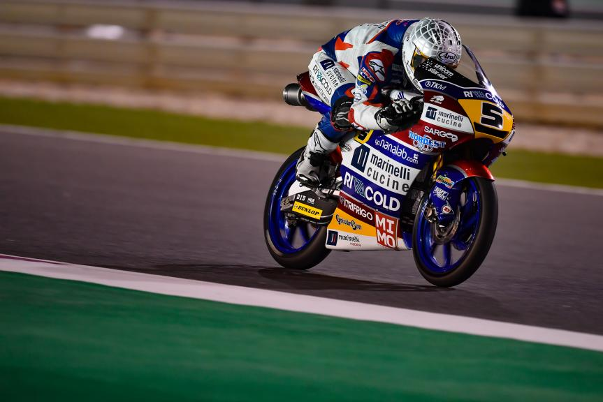 Romano Fenati, Marinelli Rivacold Snipers, Grand Prix of Qatar