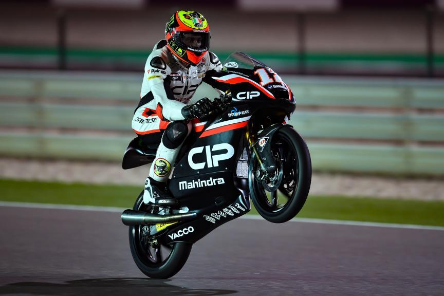 Marco Bezzecchi, Cip, Grand Prix of Qatar