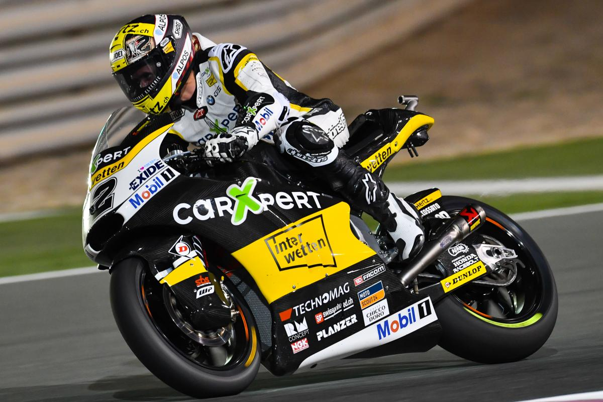 Lüthi out front on Thursday | MotoGP™