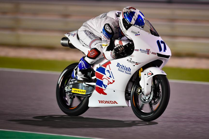 John Mcphee, British Talent Team, Grand Prix of Qatar