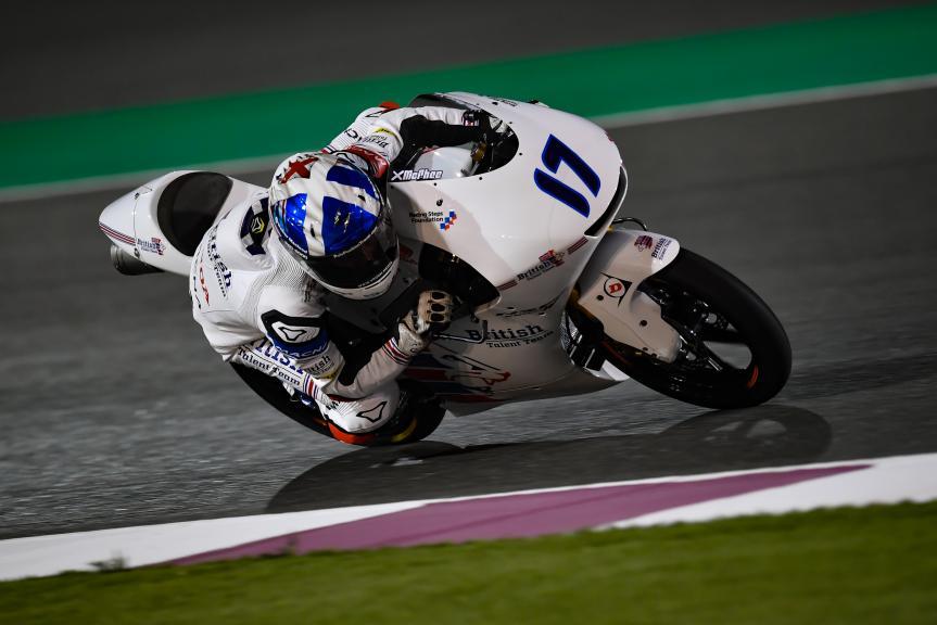 John Mcphee, British Talent Team, Grand Prix of Qatar