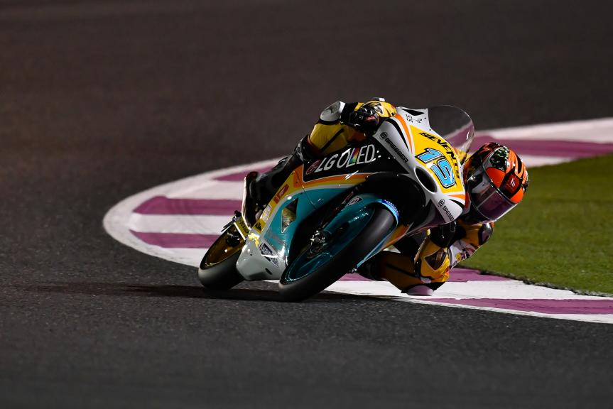 Gabriel Rodrigo, RBA BOE Racing Team, Grand Prix of Qatar