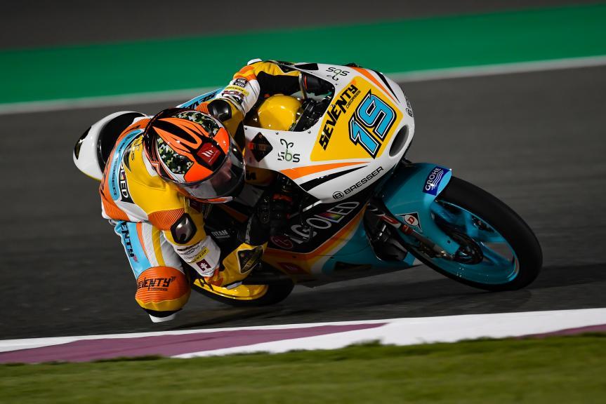 Gabriel Rodrigo, RBA BOE Racing Team, Grand Prix of Qatar