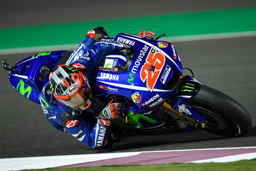 Maverick Vinales, Movistar Yamaha Motogp, Grand Prix of Qatar
