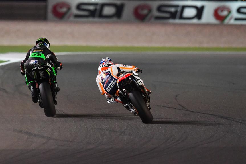 Dani Pedrosa, Repsol Honda Team, Johann Zarco, Monster Yamaha Tech 3, Grand Prix of Qatar