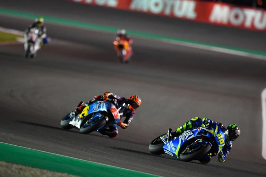 Andrea Iannone, Team Suzuki Ecstar, Tito Rabat, Eg 0,0 Marc Vds, Grand Prix of Qatar