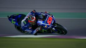 Maverick Viñales led the way ahead of Marc Marquez and Dani Pedrosa in Free Practice 1