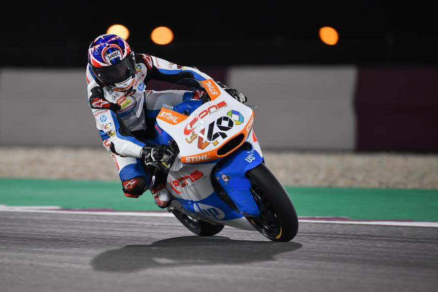 Fabio Quartararo, Pons Hp40, Grand Prix of Qatar