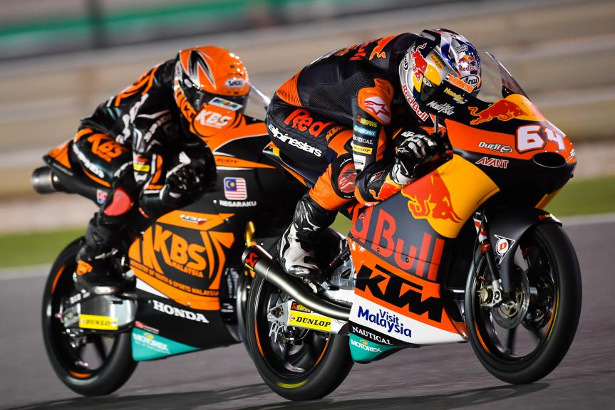 Bo Bendsneyder, Red Bull Ktm Ajo, Grand Prix of Qatar