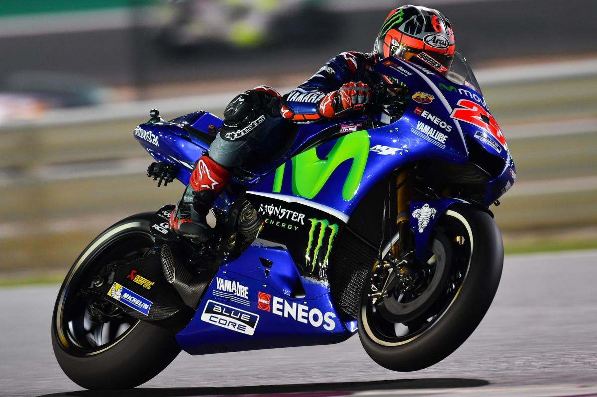 "Viñales: ""I just pushed"" 