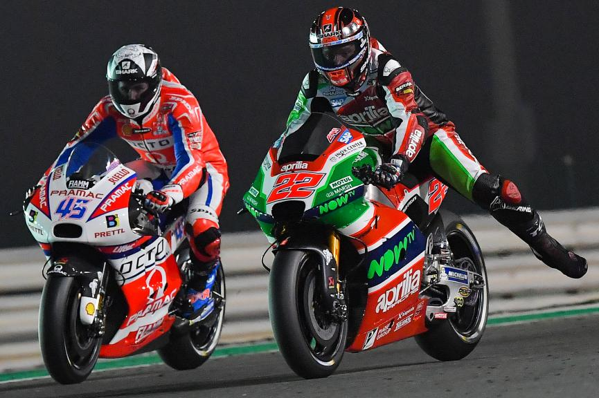 Sam Lowes, Aprilia Racing Team Gresini, Scott Redding, Octo Pramac Racing, Grand Prix of Qatar