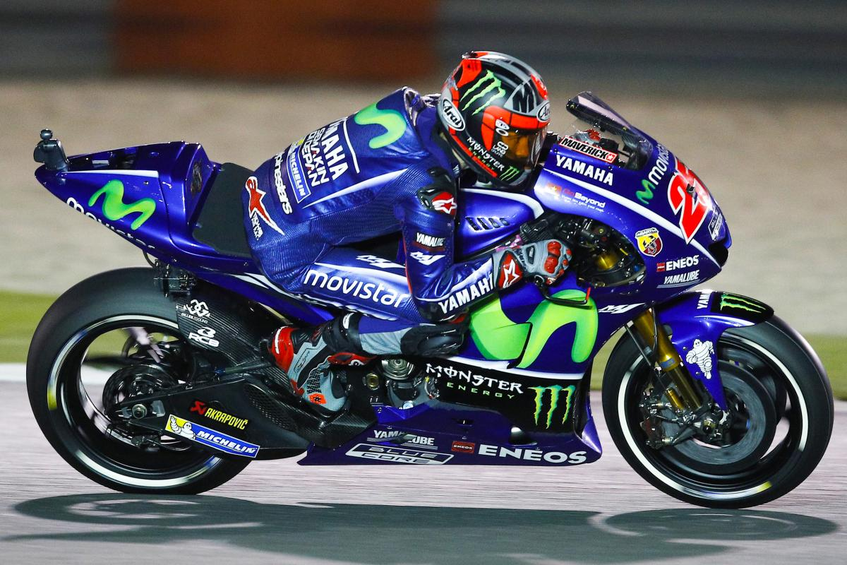 Viñales leads the charge to qualifying at Losail | MotoGP™