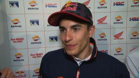 Marc Márquez revient sur sa deuxième journée d'essais libres au Qatar, à l'issue de laquelle il s'est classé troisième.