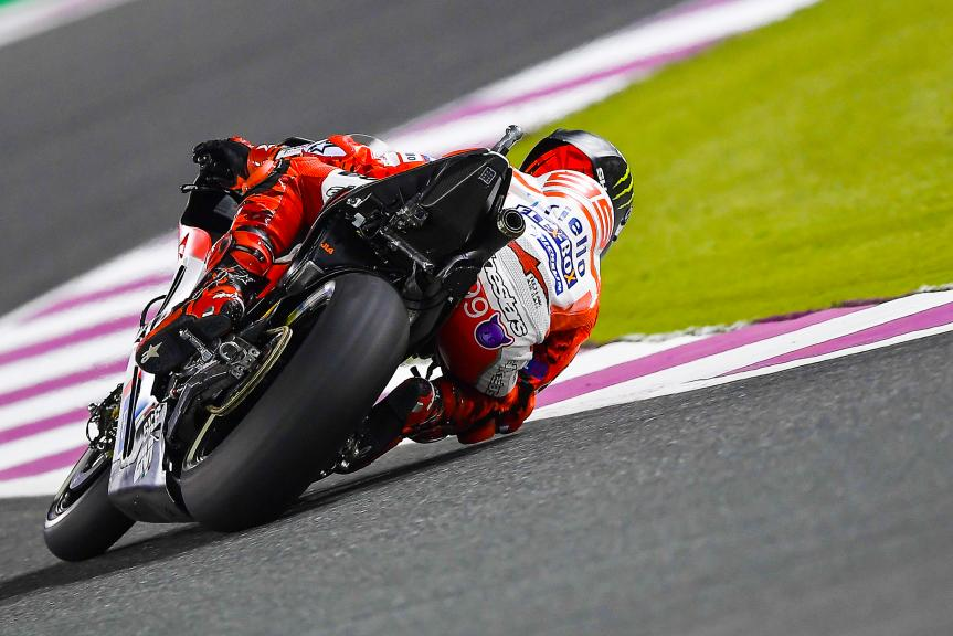 Jorge Lorenzo, Ducati Team, Grand Prix of Qatar