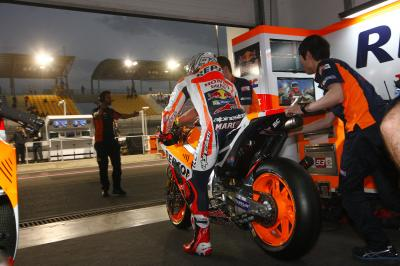 "Marquez: ""Warm Up will be important"""