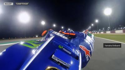 #QatarGP : En piste avec Viñales