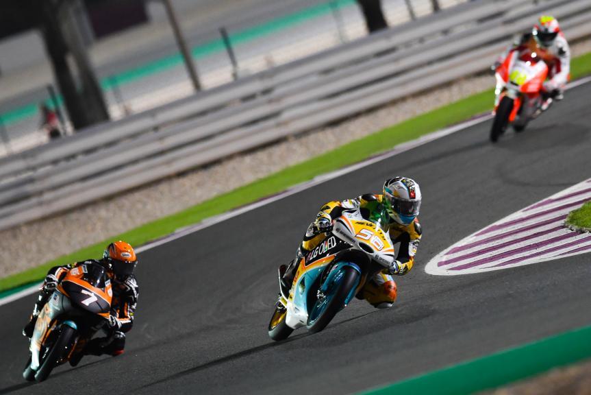 Juanfran Guevara, RBA BOE Racing Team, Adam Norrodin, Sic Racing Team, Grand Prix of Qatar