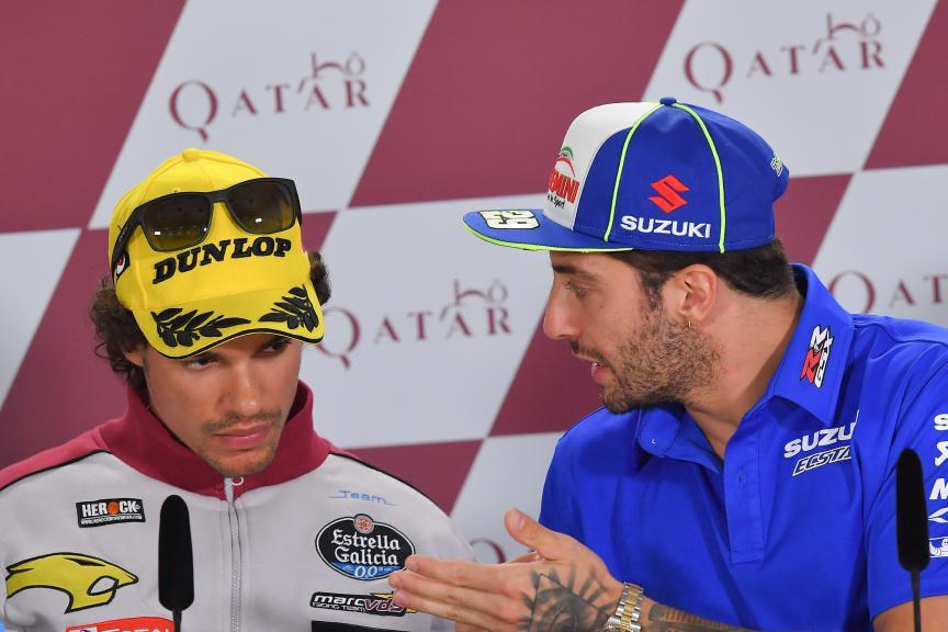 Andrea Iannone, Team Suzuki Ecstar, Franco Morbidelli, Eg 0,0 Marc Vds, Grand Prix of Qatar, Grand Prix of Qatar