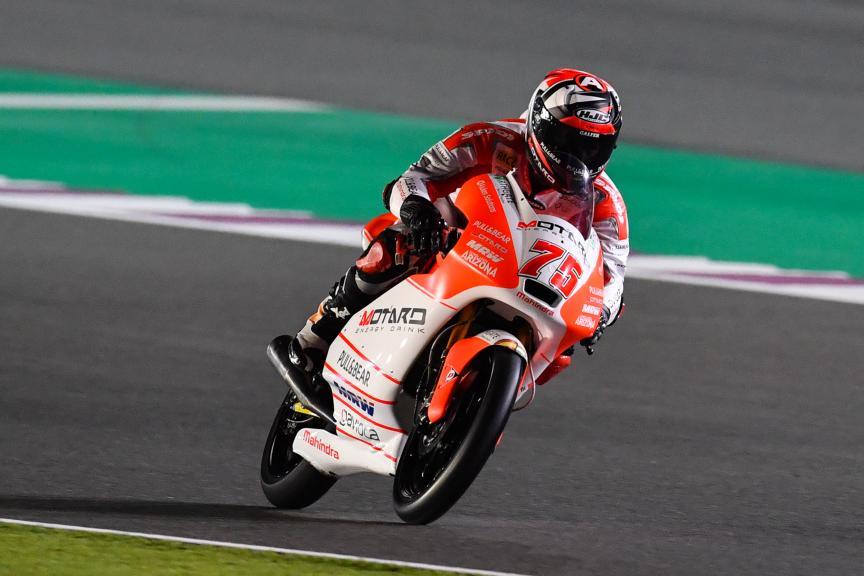 Albert Arenas, Aspar Mahindra Moto3, Grand Prix of Qatar