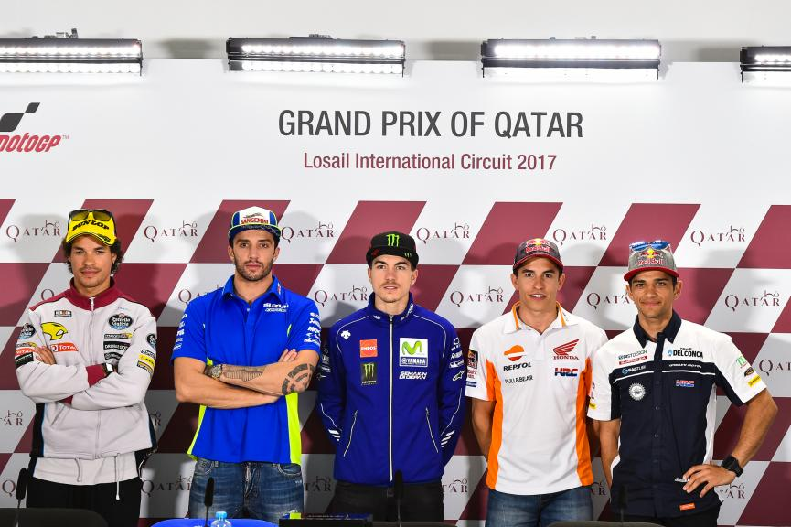 Press Conference, Grand Prix of Qatar