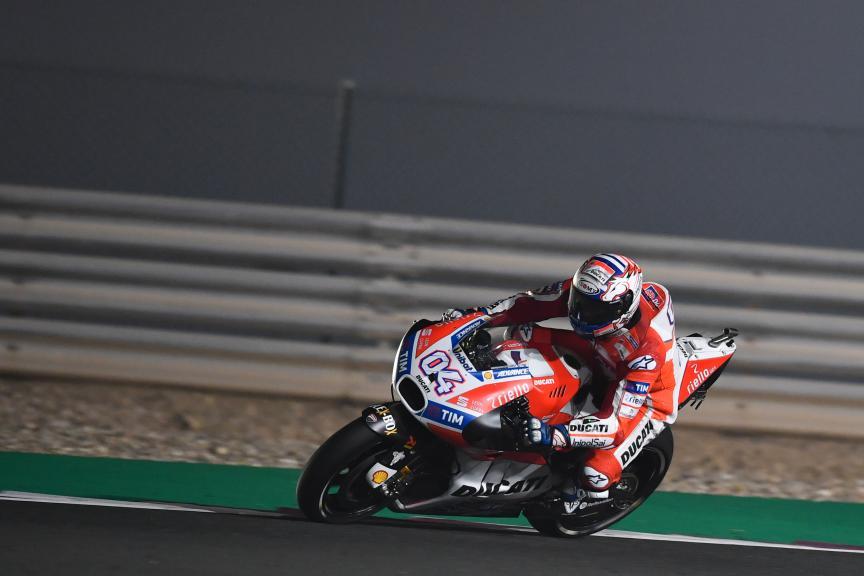 Andrea Dovizioso, Ducati Team, Grand Prix of Qatar