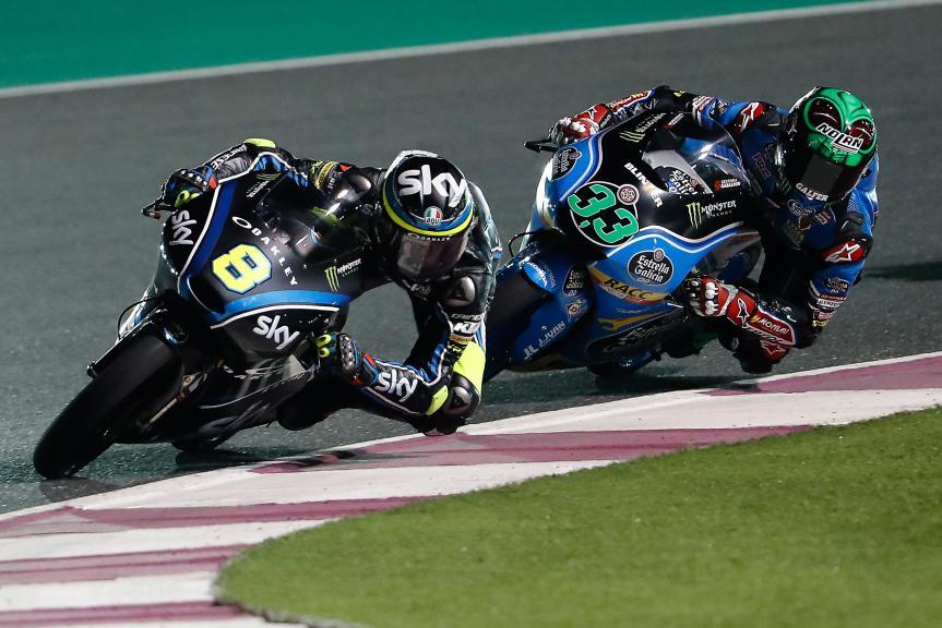 Enea bastianini, Estrella Galicia 0,0, Grand Prix of Qatar