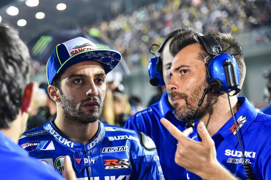 Andrea Iannone, Team Suzuki Ecstar, Grand Prix of Qatar