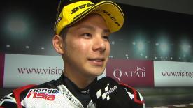 3位進出で4年ぶりに開幕戦表彰台を獲得した中上貴晶が決勝レースを振り返る。