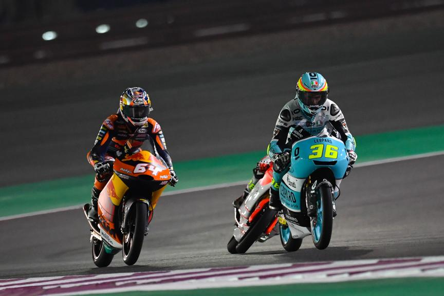 Joan Mir, Leopard Racing, Bo Bendsneyder, Red Bull Ktm Ajo, Grand Prix of Qatar