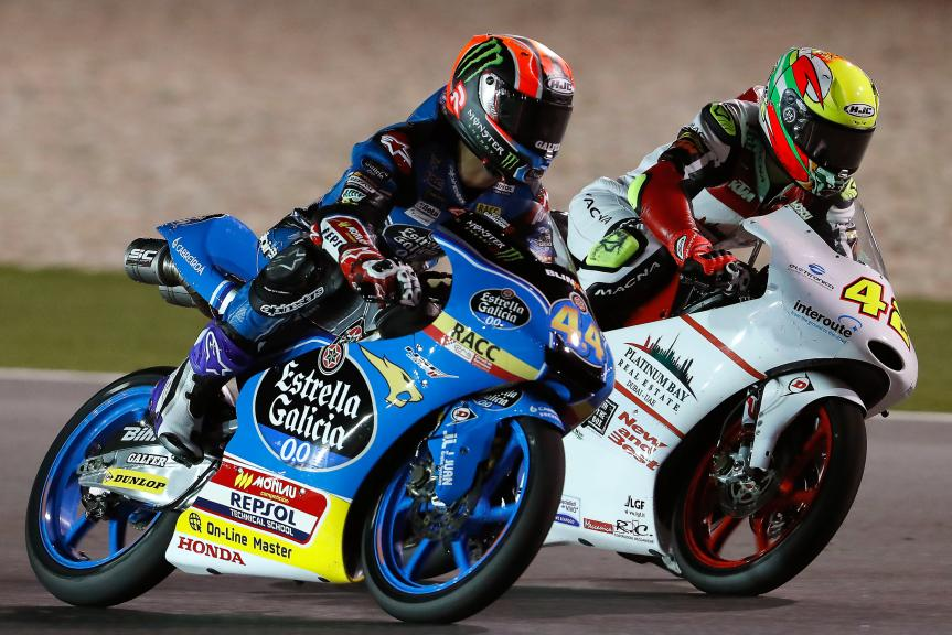 Aron Canet, Estrella Galicia 0,0, Marcos Ramirez, Platinum Bay Real Estate, Grand Prix of Qatar