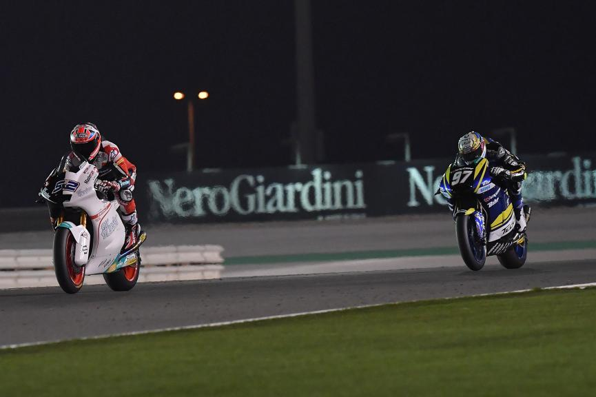 Danny Kent, Kiefer Racing, Xavi Vierge, Tech 3 Racing, Grand Prix of Qatar