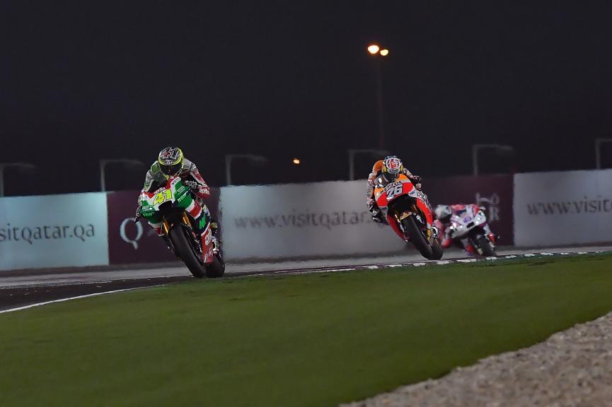 Aleix Espargaro, Dani Pedrosa, Grand Prix of Qatar