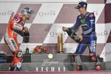 Andrea Dovizioso, Maverick Vinales, Grand Prix of Qatar