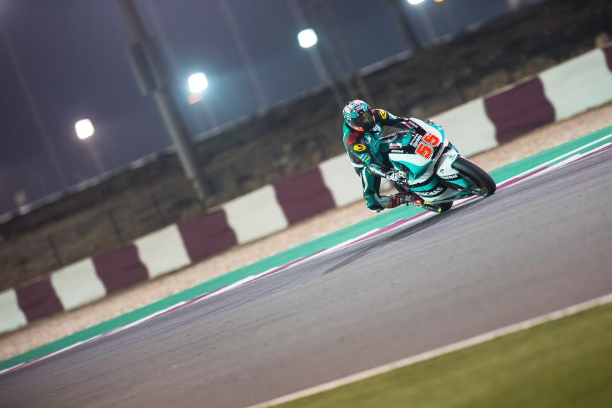 Hafizh Syahrin, Petronas Raceline Malaysia, Grand Prix of Qatar