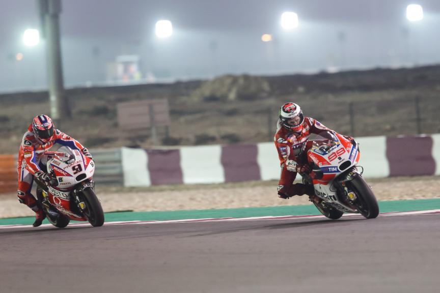 Jorge Lorenzo, Danilo Petrucci, Grand Prix of Qatar