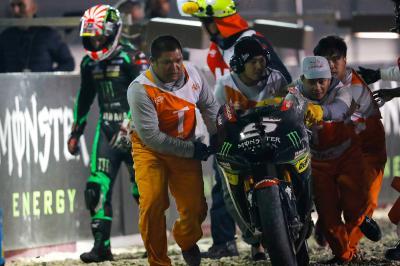 Dovizioso, Rossi et Viñales réagissent à la course de Zarco