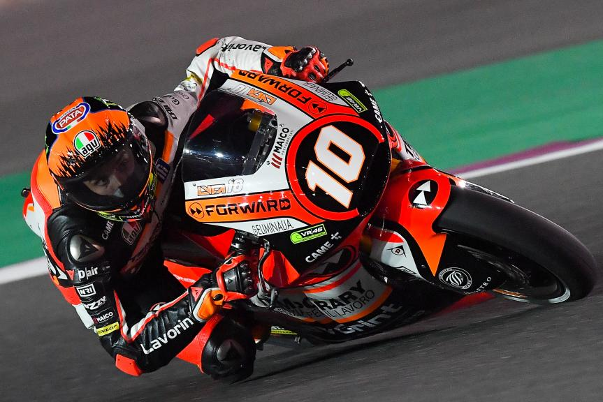 Luca Marini, Forward Racing Team, Grand Prix of Qatar