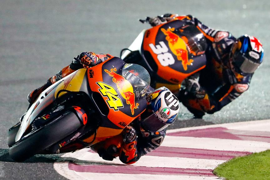 Pol Espargaro, Bradley Smith, Red Bull Ktm Factory Racing, Grand Prix of Qatar