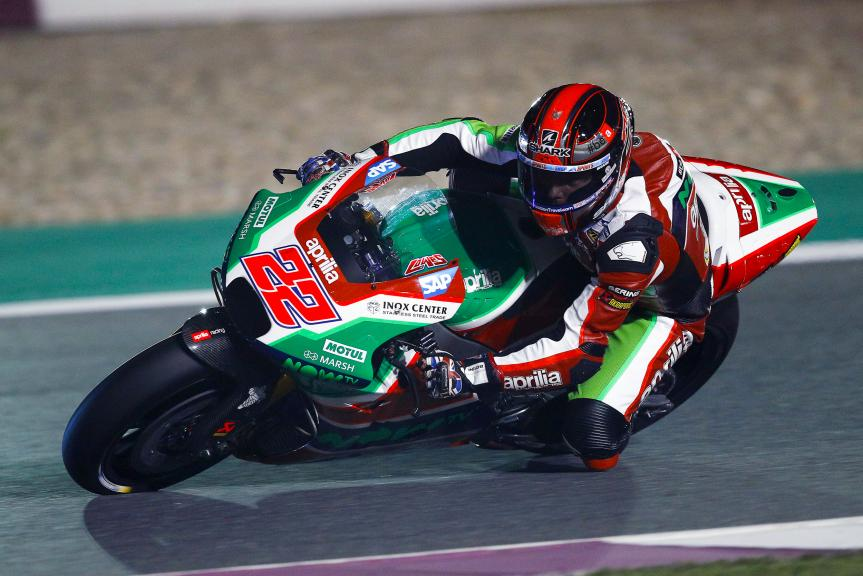 Sam Lowes, Aprilia Racing Team Gresini, Grand Prix of Qatar