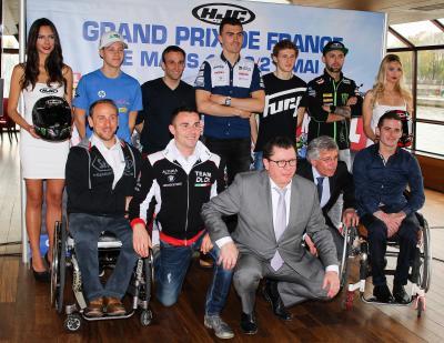 Lancement du HJC Helmets Grand Prix de France à Paris