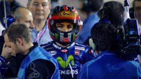 Movistar Yamaha MotoGP rider opens his 2017 and Yamaha account with an impressive weekend
