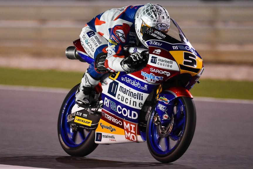 Romano Fenati, Marinelli Rivacold Snipers, Grand Prix of Qatar