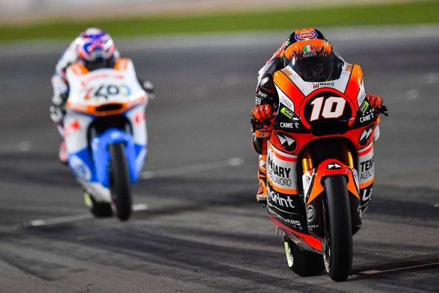 Luca Marini, Forward Racing Team, Grand Prix of Qatar