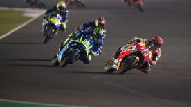 An explanation of some of the most remarkable overtakes that took place at the #QatarGP.