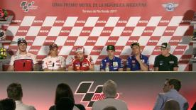 Everything you need to know from the official opening press conference at the #ArgentinaGP.