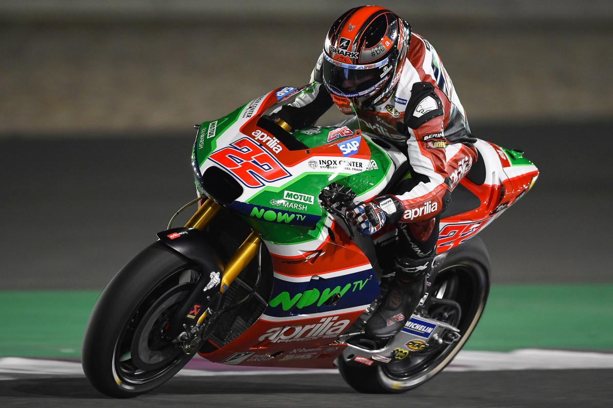 Lowes happy to be back on track | MotoGP™